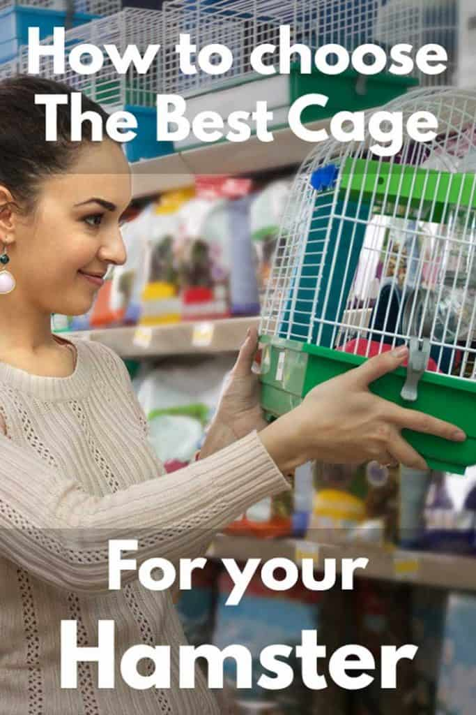How To Choose The Best Cage For Your Hamster