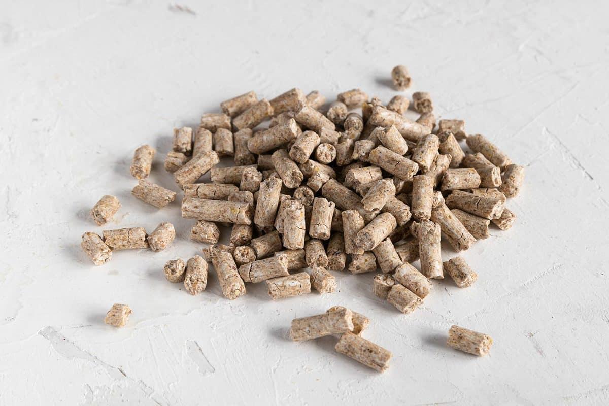 Grain rich granulated hamster food
